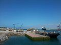 Les travaux sur le quai Croisiére au port de Casablanca (suivie).jpg