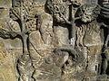 Level 1, Inner Wall Bottom - Borobudur - 006 Divyavadana, East Wall, Panel 3, Sudhana and Manohara (detail, left) (8599545578).jpg