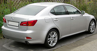 Lexus IS (XE20) - 2008 Lexus IS 250 (GSE20; Europe)