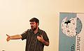 Liam Wyatt on Aghveran WikiCamp 2015 01.jpg