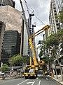 Liebherr crane 300T at Mary Street, Brisbane 02.jpg