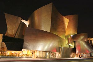 Los Angeles Music Center - Walt Disney Concert Hall designed by Frank Gehry