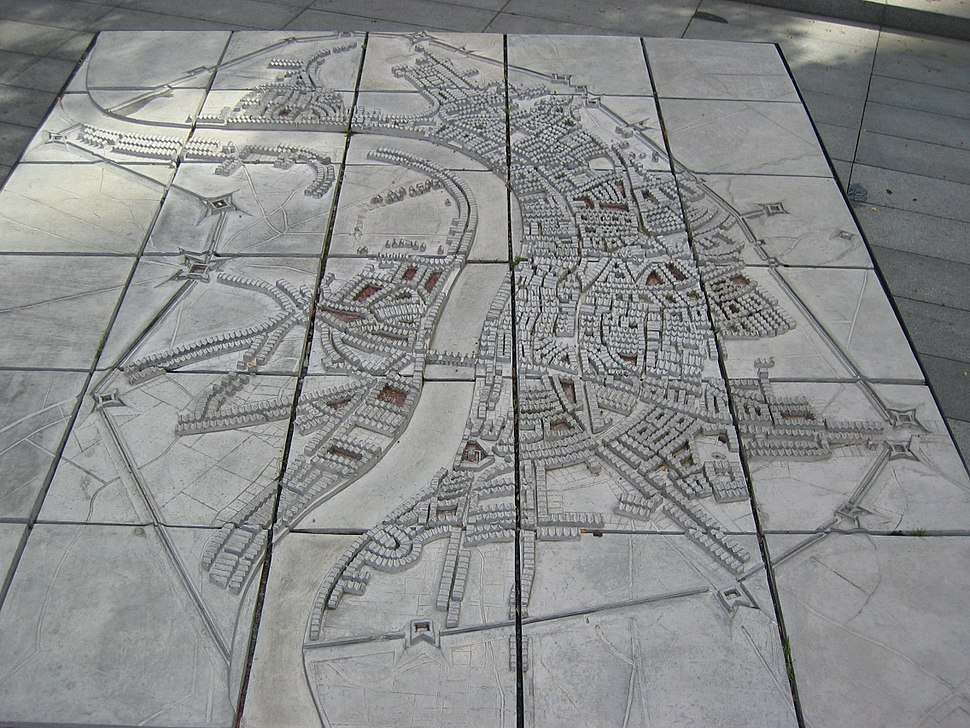 Model of the Lines of Communication built around London in 1642–43