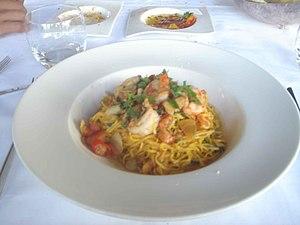 Linguine dish