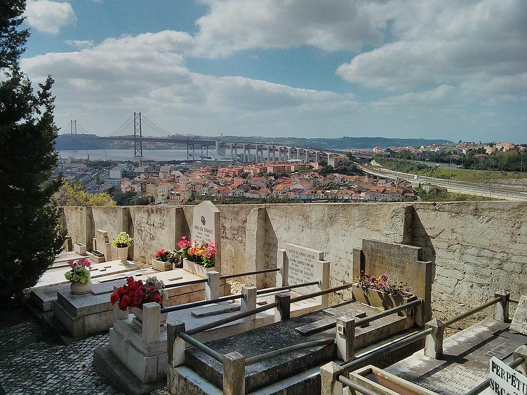 Cimetière de Prazeres à Lisbonne - Photo de Daniil Vasiliev