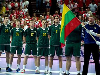Lithuania national handball team - Lithuanian team.