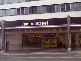 Liverpool James Street railway station