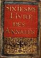 Livre VI des annales (1618-1633). Frontispice.jpg