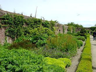 Llanerchaeron - Part of the walled garden