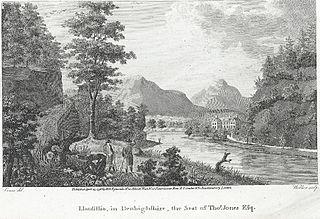 Llansilio: in Denbighshire, the seat of Thos. Jones esq