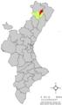 Localització de Catí respecte del País Valencià.png