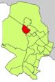 Localització de Son Xigala respecte del Districte de Ponent.png