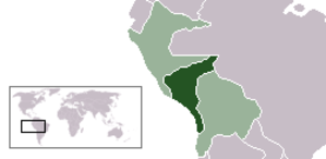Republic of South Peru - South Peru within the Confederation