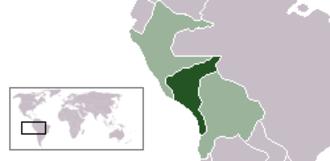 Republic of South Peru - South Peru within the Confederation