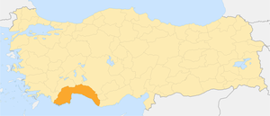 Locator map-Antalya Province.png