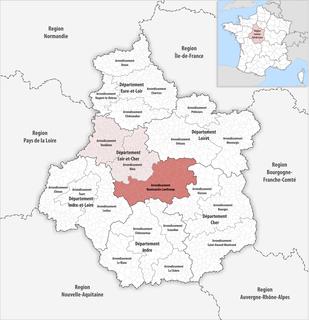 Arrondissement of Romorantin-Lanthenay Arrondissement in Centre-Val de Loire, France