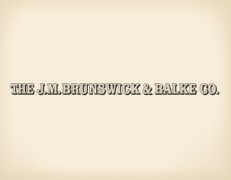 Brunswick Corporation - Image: Logo of JM Brunswick & Balke Co in 1874