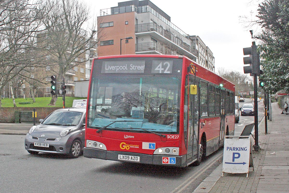 london buses route 42 - wikipedia