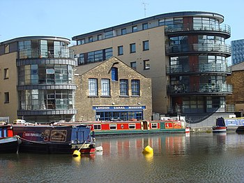 English: London Canal Museum, 12-13 New Wharf ...