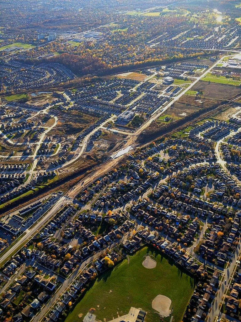 London Ontario Urban Sprawl