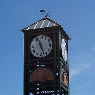 Longwood, Florida - Clock tower in Longwood Historic District