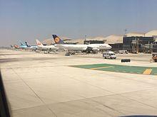 L'Aeroporto Internazionale di Los Angeles, luogo delle riprese dove Fletcher ha inseguito disperatamente l'aeroplano