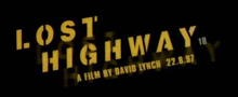 Description de l'image  Lost Highway Filmlogo.png.