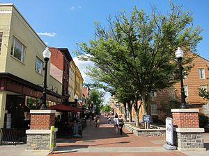 Winchester, Virginia - Loudoun Street Mall, May 2016