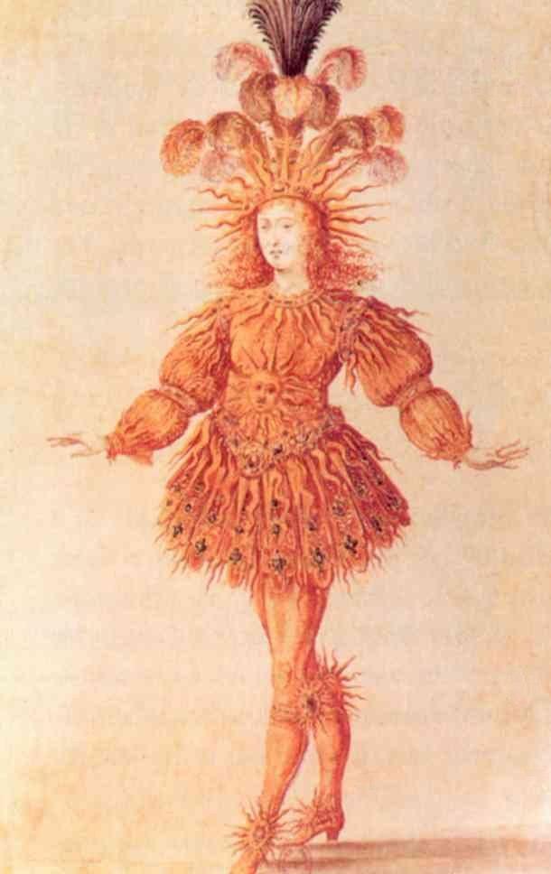 Louis XIV habill%C3%A9 en soleil
