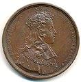 Louis XV, Couronnement 1722, Médaille par Michel Rög Av.jpg