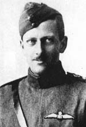 Quintin Brand - Lt. Christopher Quintin Brand, No 1 RFC, c. 1917