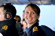 Lt on HMS Diamond