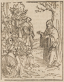 Lucas Cranach der Ältere Bergpredigt Christi 1582.png