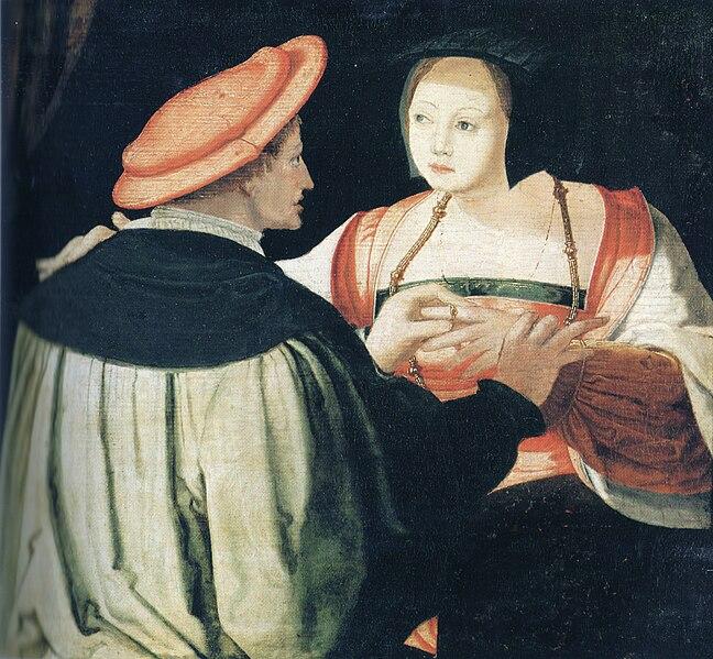 фото проституток средневековья