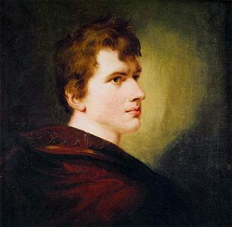 Ludwig Achim von Arnim - Portrait by Peter Edward Stroehling, 1803