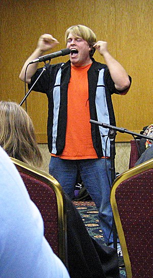 Luke Ski at WindyCon 2005