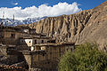 Lupra, a traditional Bön village in Mustang (15570421377).jpg