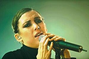Romanian Top 100 - Image: Lykke Li Roskilde Festival 2011