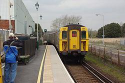 Lymington Town railway station MMB 03 421497.jpg