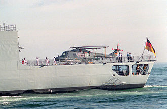 Marineflieger - Image: Lynx Mk 88 F 214 1993