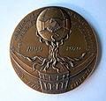 Médaille 80e anniversaire du Syndicat des ouvriers Monnaie de Paris Pessac 1899-1979. Graveurs J-P GENDIS et D. GEDALGE (1).JPG