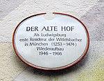 München, Alter Hof, Schild.jpg
