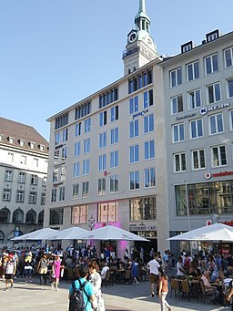 München — Marienplatz 22 — Bj 2017