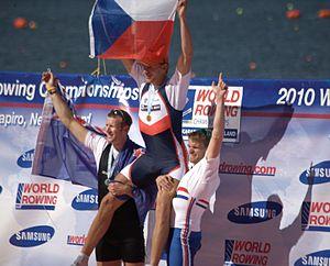 2010 World Rowing Championships - M1x medallists