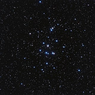 Beehive Cluster Open cluster in the constellation Cancer