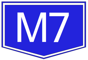 M8 motorway (Hungary) - Image: M7 autopalya