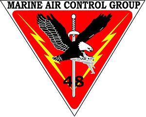 Marine Air Control Group 48 - MACG-48 insignia