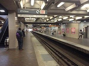 Five Points station - Image: MARTA Five Points Station Westbound Platform