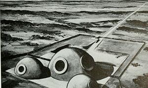 Active electronically scanned array - ZMAR concept sketch, 1962