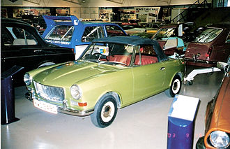 MG Midget - Mini-based MG Midget concept car that never made it to production. (Photo taken in 2003 at the Heritage Motor Centre in Gaydon)